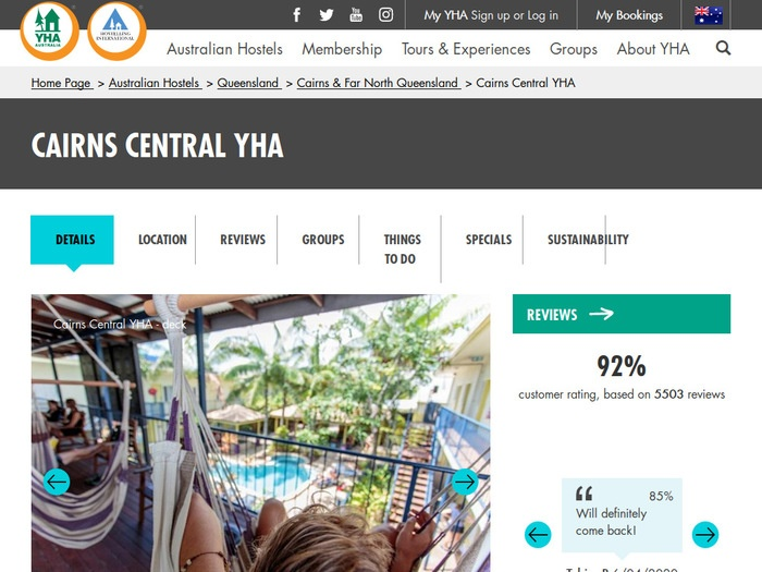 http://www.yha.com.au/hostels/qld/cairns-and-far-north-queensland/cairns-backpackers-hostel/