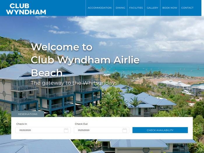 http://www.clubwyndhamairliebeach.com.au/