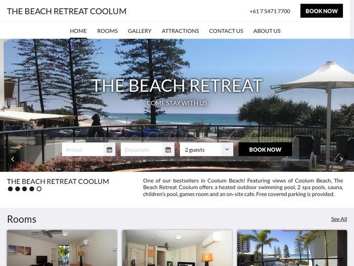 http://www.beachretreatcoolum.com/