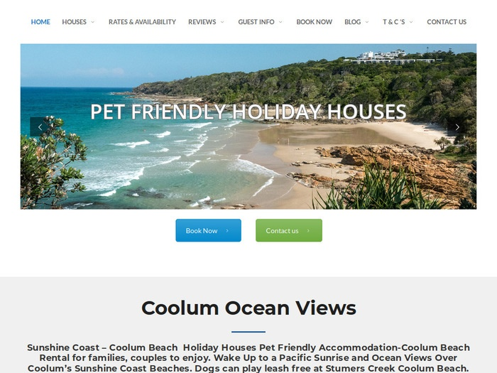 http://coolumsunshinecoastpetfriendlyholidayhouse.com.au/