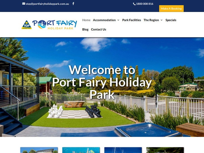 http://www.portfairyholidaypark.com.au