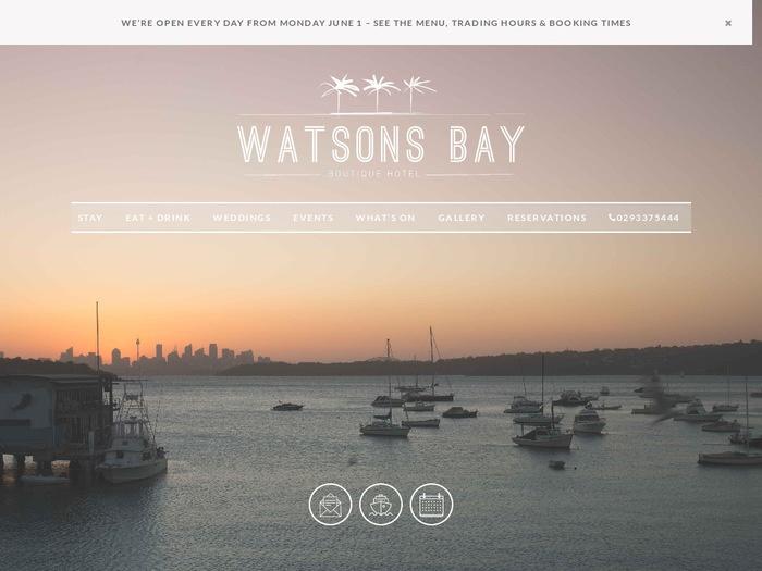 http://www.watsonsbayhotel.com.au/