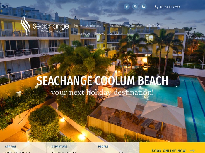 http://www.seachangecoolumbeach.com.au/