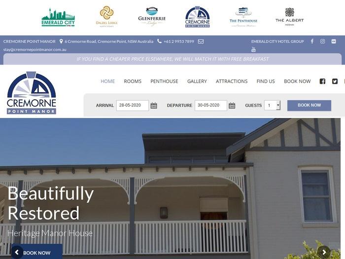 http://www.cremornepointmanor.com.au/
