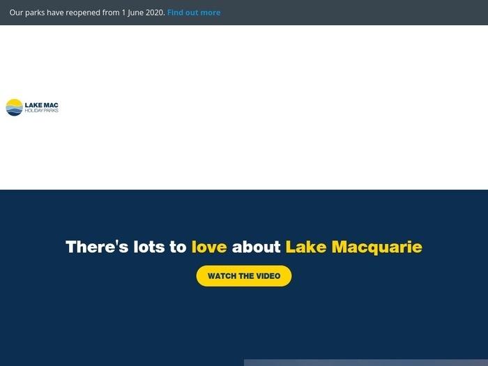http://www.lakemacholidayparks.com.au/