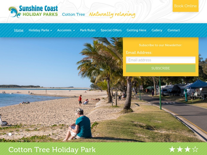 http://www.sunshinecoastholidayparks.com.au/holiday_parks/cotton_tree_holiday_park/