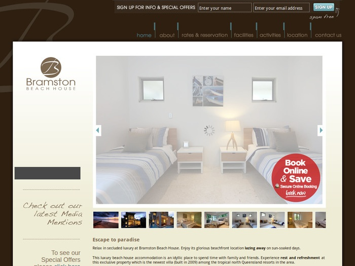 http://www.bramstonbeachhouse.com.au/