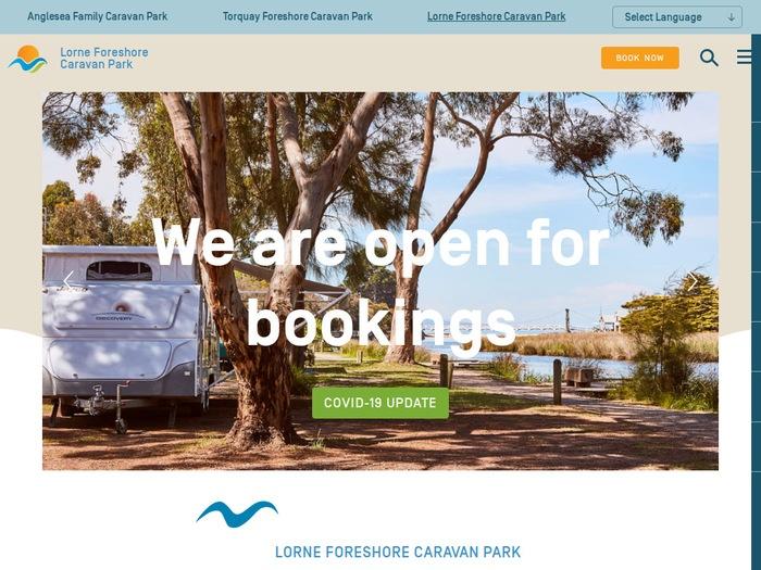 http://www.lornecaravanpark.com.au