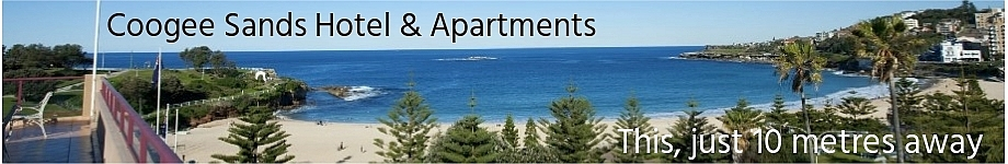 This category is sponsored by Coogee Sand Hotel & Apartments - http://www.coogeesands.com.au