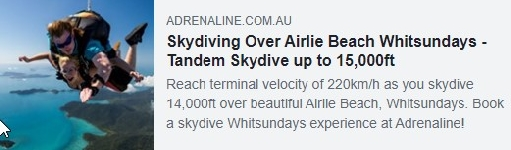 This category is sponsored by Adrenaline - https://www.adrenaline.com.au/airlie-beach/skydiving/whitsundays-14000ft/